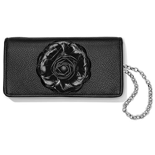 Brighton Rosie Rockmore Wallet – BLACK [7 1/2 X 4]