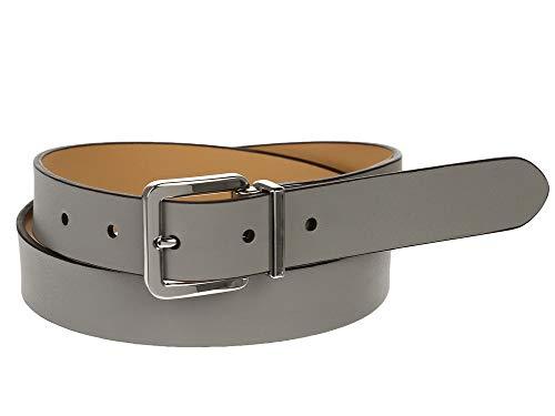 Ralph Lauren Women's Grey Leather Belt Medium