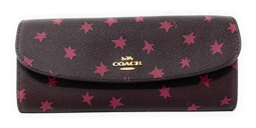 Coach Gift Boxed Star Wallet with Stars and Charms – #F39133