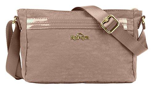 Kipling Women's Jude Solid Crossbody Bag, New Brown, One Size