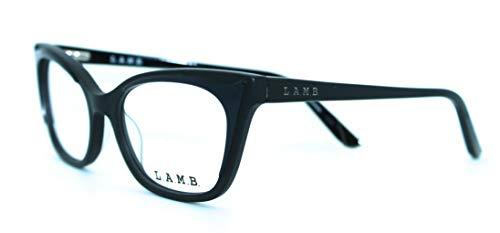 L.A.M.B. by GWEN STEFANI – LA001 BLK 50/16/130 – BLACK – NEW Authentic WOMEN EYEGLASSES