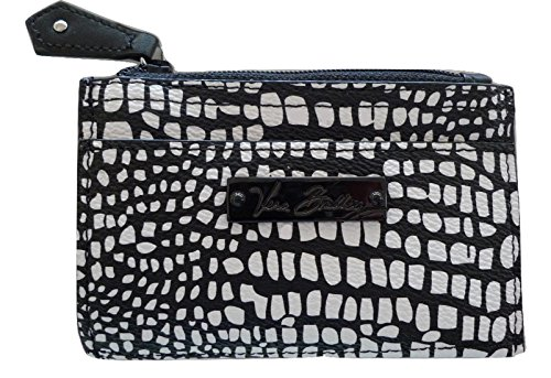 Vera Bradley Slim Coin Purse (Midnight Snakeskin)