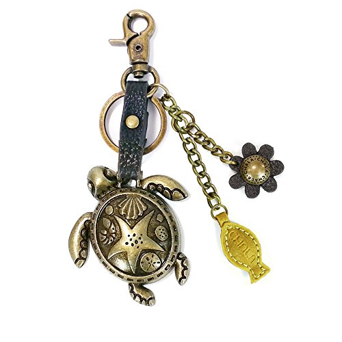 Chala Metal Sea Turtle Collections (Metal Turtle-Yellow Keychain only)