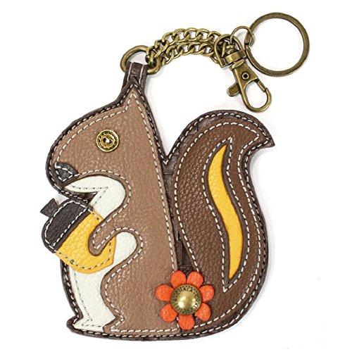 Chala Coin Purse – Key Fob (Squirrel)