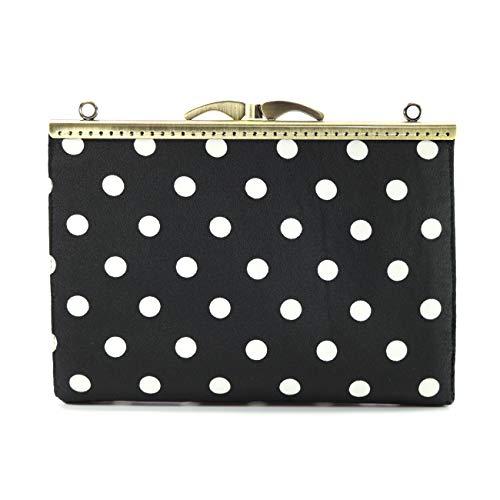 Jan&Dee Evening Envelope Handbag Party Bridal Clutch Purse Shoulder Cross Body Bag For Womens