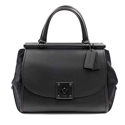COACH Women's Mixed Leather Drifter Carryall Mw/Black One Size