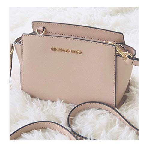 MICHAEL Michael Kors Selma Mini Saffiano Leather Crossbody Bag (Ballet)