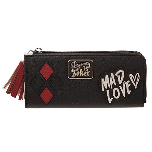 Harley Quinn Wallet Harley Quinn Gift for Girls – Harley Quinn DC Wallet – Mad Love Wallet Harley Quinn Accessory