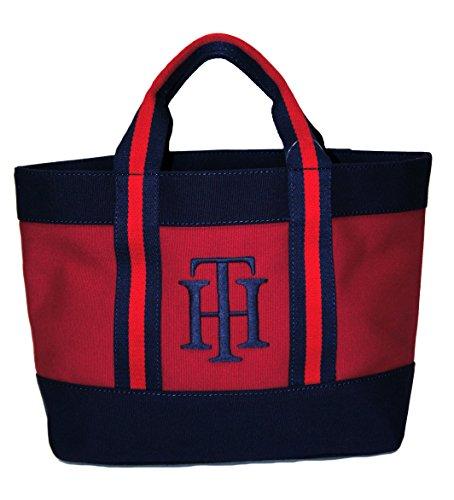 Tommy Hilfiger SM Tommy Shoulder Tote Handbag