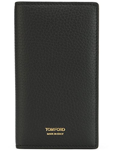 Tom Ford Mens Grained Leather Vertical Wallet Billfold Y0227F-C95