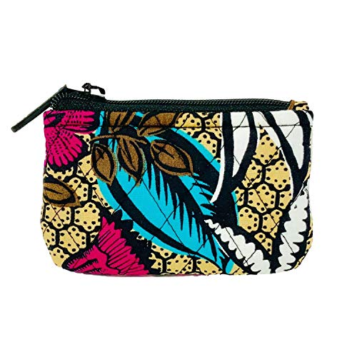 Vera Bradley Zip Close Pocket Coin Purse (Canyon Road)