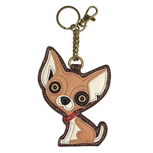 Chala Chihuahua Key Fob Chihuahua lovers gift Chihuahua Mom Chala Handbags Key Fob