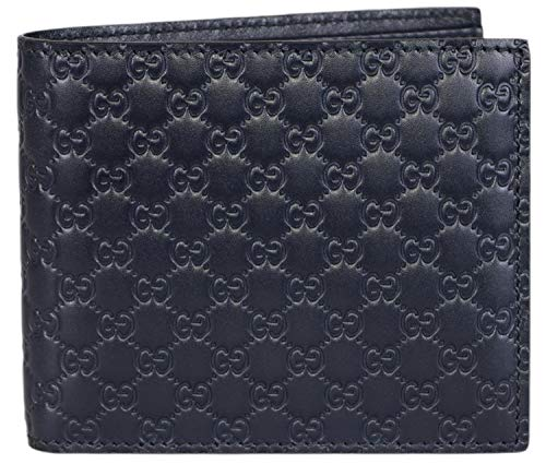 GUCCI Microguccissima Leather Wallet, Brown 260987