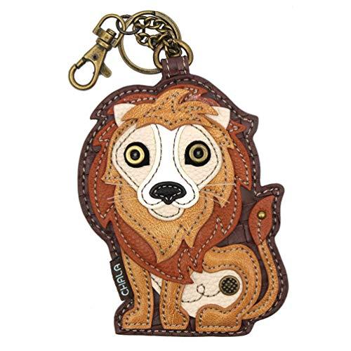 Chala Handbags Lion Key Fob Coin Purse Chala Keychain