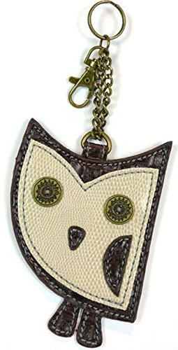 Chala Coin Purse – Key Fob – OWL