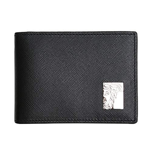 Versace Collection 100% Leather Black Men's Wallet