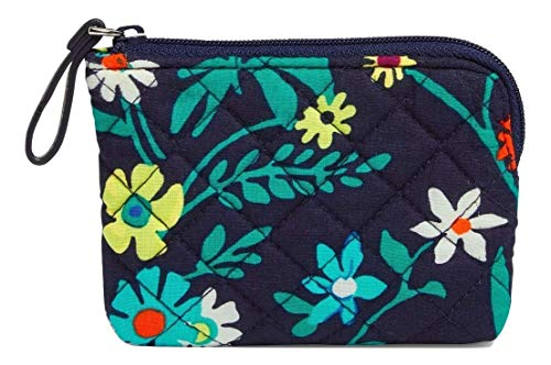 Vera Bradley Iconic Coin Purse in Moonlight Garden