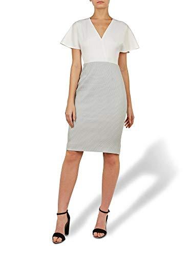 Ted Baker 3 Reemadd V-Neck Fluted Sleeves Midi Dress, US 8-10/M