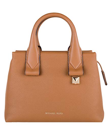 MICHAEL Michael Kors Rollins Small Leather Satchel Bag, Color 203 Acorn