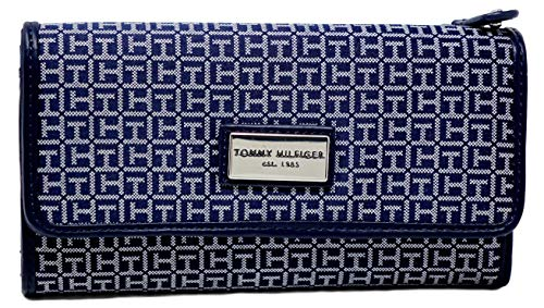 Tommy Hilfiger Women's Continental Checkbook Wallet Clutch Bag