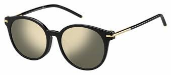 Marc Jacobs Marc 87/F/S 807 Black Sunglasses Mirror Lenses