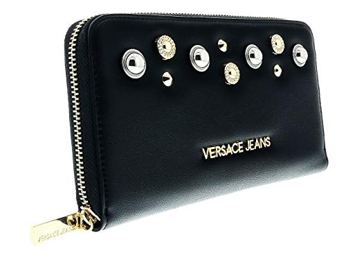 VERSACE JEANS woman wallet E3VTBP43 BLACK UNICA Nero