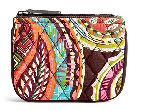 Vera Bradley Coin Purse in Heirloom Paisley Signature Cotton