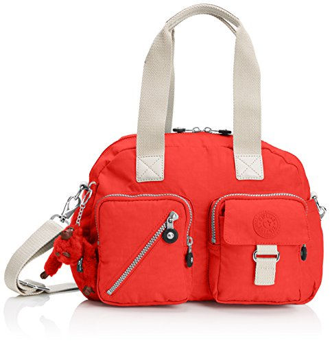 Kipling Womens Defea Shoulder Bag Coral Rose C, One Size