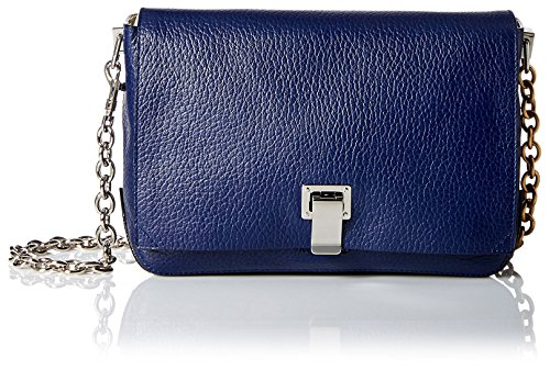 Proenza Schouler Women's Borsa Ps Small Courier Cross-Body Bag in New Navy