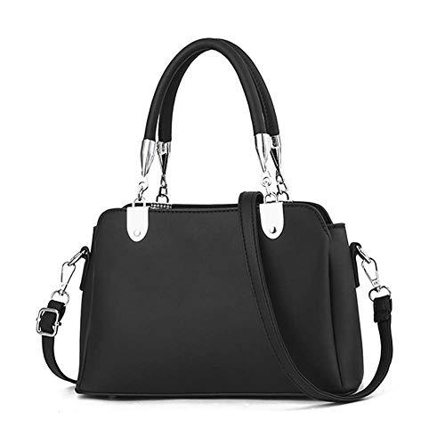 Nuanxingjiafang Handbag – Large Capacity Multi-Functional Single Shoulder Bag, Polyester Wear Resistant Shell Bag, Khaki for Black Fashion Handbag (26.5cm 17cm 11cm) Fashion