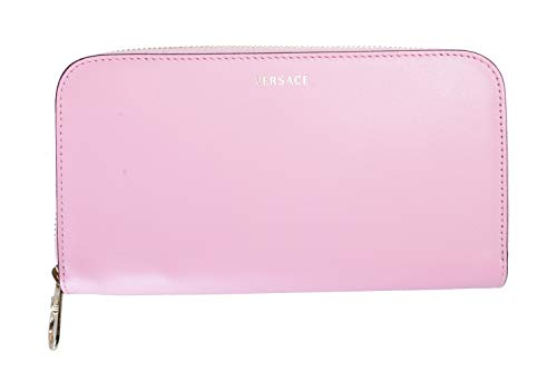 Versace 100% Leather Pink Women's Wallet