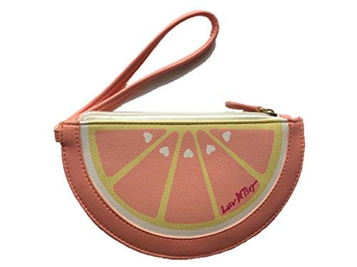 Betsey Johnson Love Betsey Orange Coin Purse lbsliced
