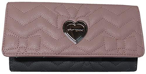 Betsey Johnson Flap Checkbook Wallet Blush Multi