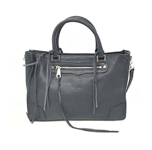Rebecca Minkoff Women's Rebecca Minkoff Regan Handbag In Black Tumbled Leather Black