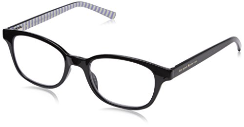 Kate Spade Women's Kya Cateye Readers, Black, 1.5