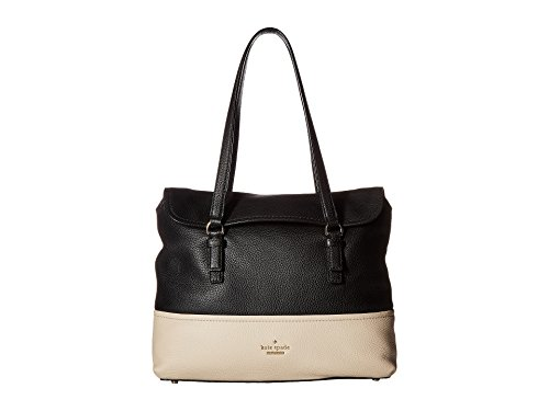 Kate Spade New York Women's Jackson Street Arietta Black/Soft Porcelain One Size