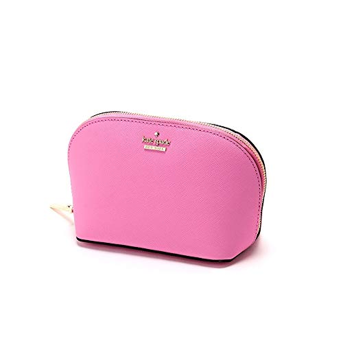 Kate Spade Cameron Street Abilene Ladies Small Pink Leather Cosmetic Pouch PWRU5287960