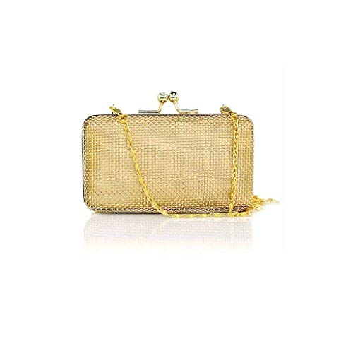 Nwn Women's Evening Bag, Handbag, Alloy Chain Bag, for Banquet, Party, Dance