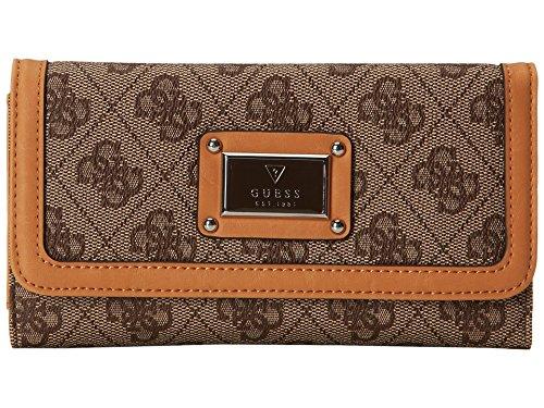 Guess Scandal SLG Slim Clutch Wallet, Brown