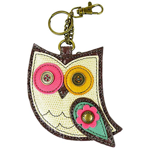 Chala Owl Key Fob Coin Purse, Owl lovers gift
