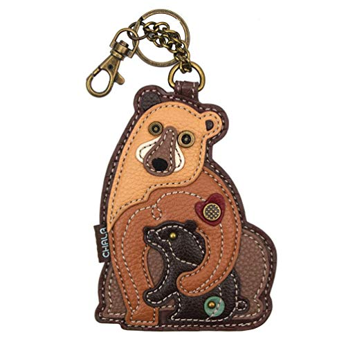 Chala Handbags Bears Key Fob Coin Purse Chala Keychain