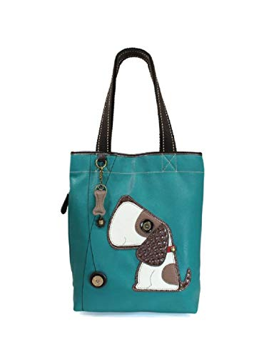 Chala Handbags 802 Toffy Everyday Dog Tote Teal