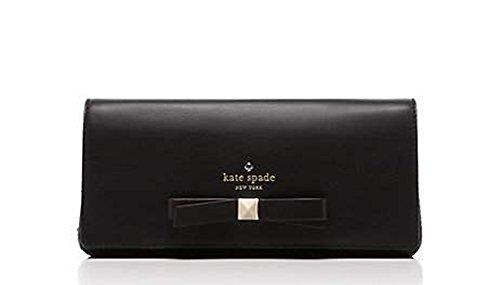 Kate Spade Hancock Park Keira leather clutch