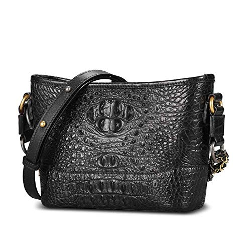 EEKUY Fashion Women Handbags, Large Alligator Tote Shoulder Bags Women Crocodile Tote Bag Lady Banquet Clutches Bags 9.1×6.7×3.1 Inch