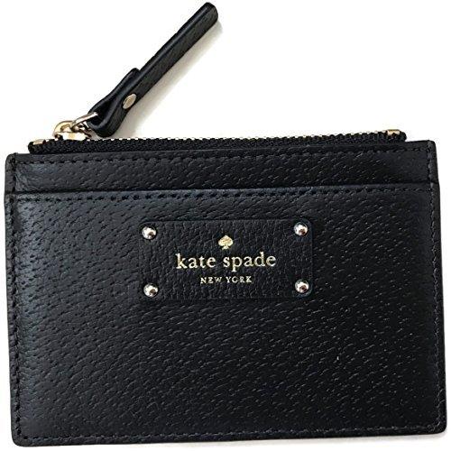 Kate Spade Grove Street Adi Wallet Coin Purse Business Card Holder Credit card holder, Black