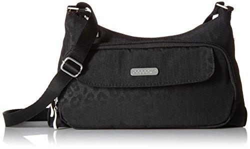 Baggallini Everyday Crossbody Bagg Bag, Black Cheetah, One Size