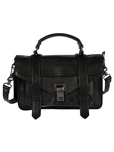 Proenza Schouler Women's H000910000 Black Leather Handbag