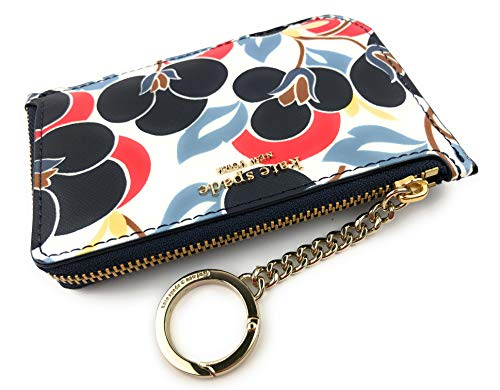 Kate Spade New York Cameron Medium L-Zip Card Holder (Breezy Floral Multi)