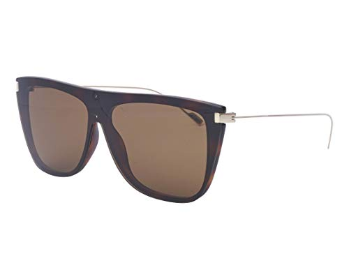 Yves Saint Laurent sunglasses (SL-1 002) Dark Havana – Gold – Brown lenses