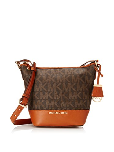 Michael Kors Bedford Small Messenger BROWN